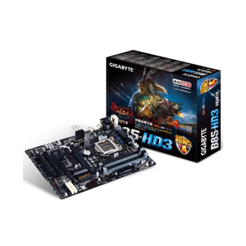 技嘉(gigabyte)b85-hd3主板 (intel b85/lga 1150)