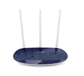 TP-LINK TL-WR886N无线路由器450M穿墙wifi三天线TL-WR886N智能家用无线wif