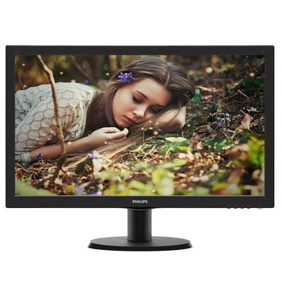 飞利浦(PHILIPS) 243V5QSB 23.6英寸MVA广视角 178度视角 超值享受 液晶显示器