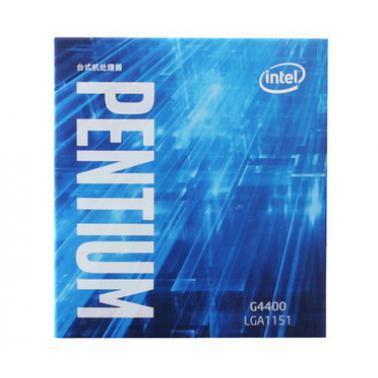 Intel/英特尔 G4400 cpu 奔腾盒装台式处理器