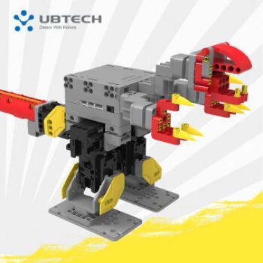 优必选Jimu探索者积木智能机器人玩具 儿童益智电动遥控拼装玩具 Jimu探索者