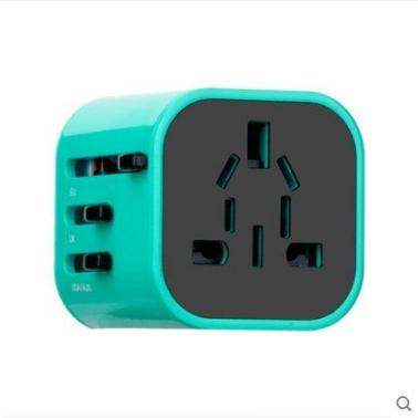 MOMAX充电器插头摩米士全球通用充电器插座迷你多功能旅行转换头