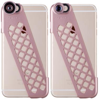MOMAX摩米士iPhone6splus拍照手机壳广角微距镜头苹果6s保护壳5.5