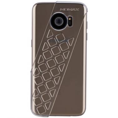 MOMAX摩米士X-Lens Case Samsung S7 edge精英拍照手机壳+2合1光学镜头套装 透明白