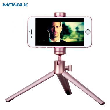 MOMAX摩米士 精英三脚架手机自拍杆支架单反相机通用自拍三角支架
