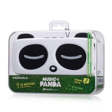 MOMAX摩米士 BDS1无线蓝牙熊猫音箱 桌面音响 支持免提通话音箱