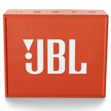 JBL GO 音乐金砖 蓝牙小音箱 音响 低音炮 便携迷你音响 音箱 橙色