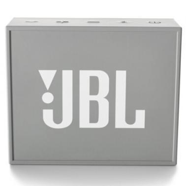 JBL GO 音乐金砖 蓝牙小音箱 音响 低音炮 便携迷你音响 音箱 灰色