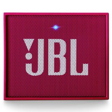 JBL GO 音乐金砖 蓝牙小音箱 音响 低音炮 便携迷你音响 音箱 粉色