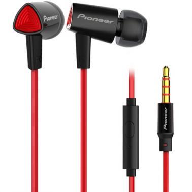 Pioneer/先锋 SEC-CL31S入耳式线控通话 音乐手机耳机 黑色