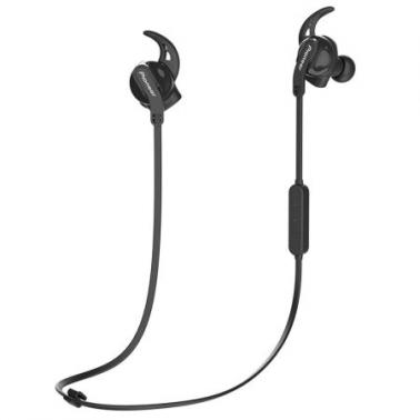 先锋(Pioneer)SEC-S201BT 入耳式无线蓝牙耳机运动跑步防汗手机耳麦 黑色